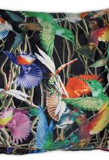 Silk Hummingbird Scarf