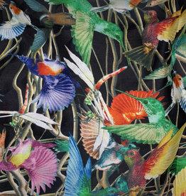 Hummingbird Silk Scarf