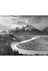 Ansel Adams Tetons & Snake River