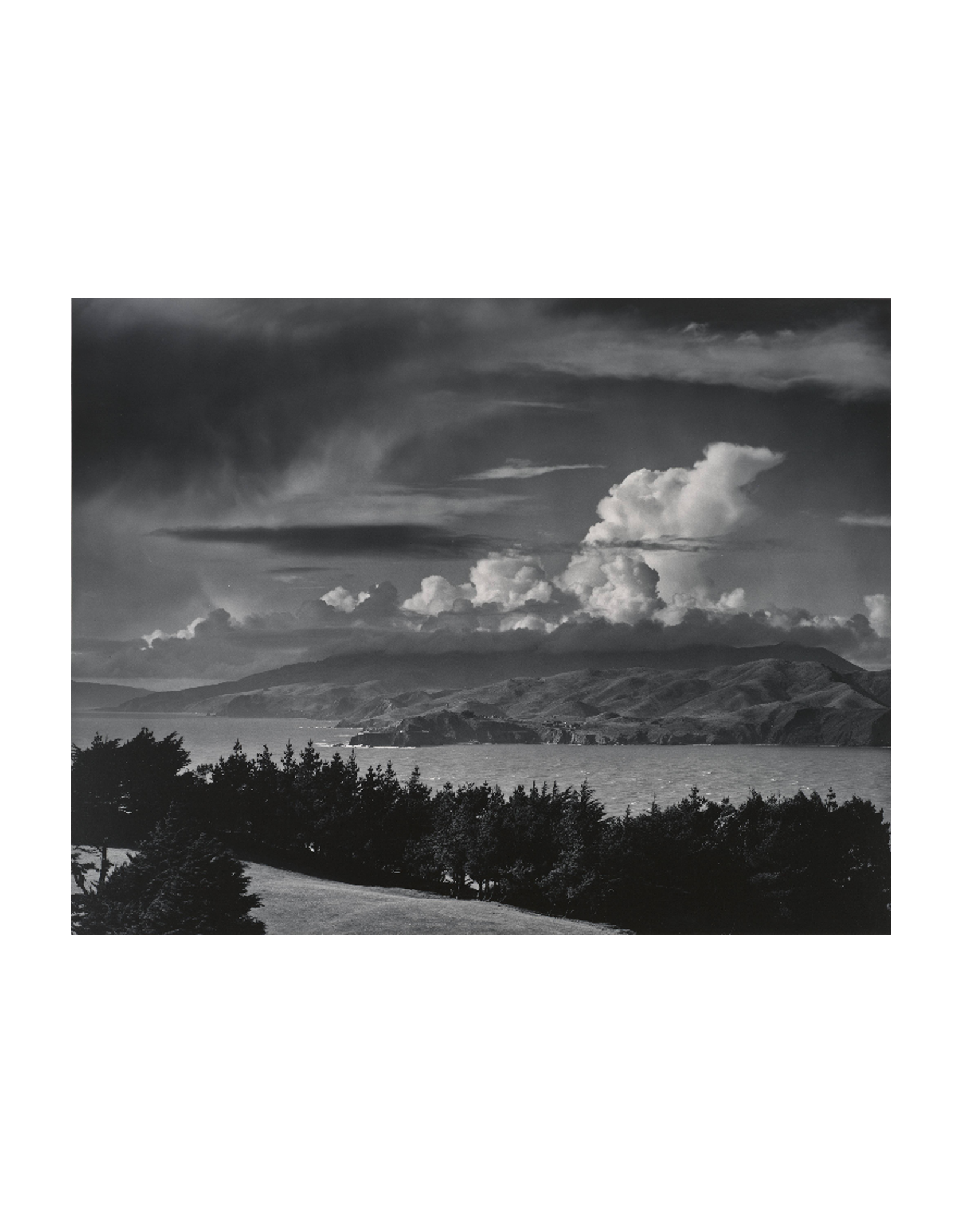 Ansel Adams Marin Hills/Headlands Notecard