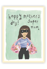 Super Mom Mothers Day Card