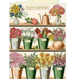 Flower Market Birthday Card