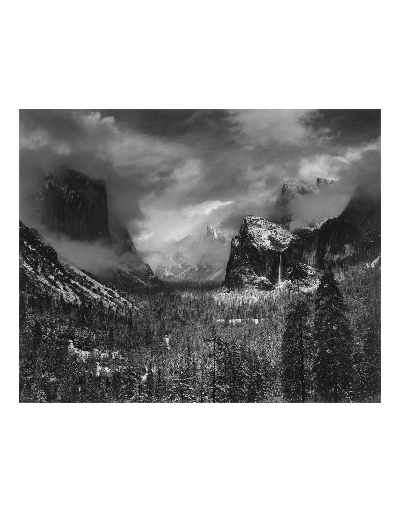 Ansel Adams Clearing Winter Storm