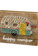 String Art Happy Camper