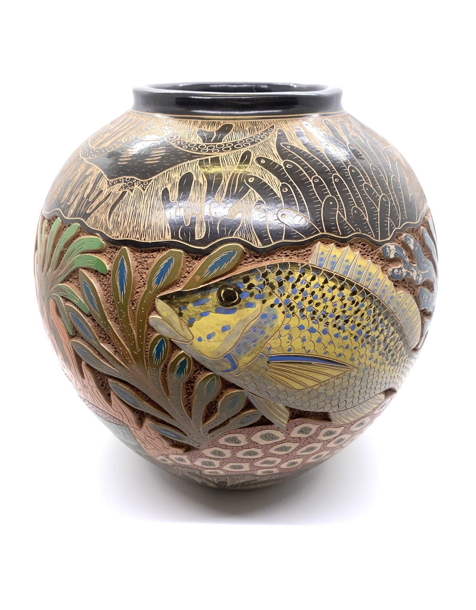 Sea Life Pot Sketches