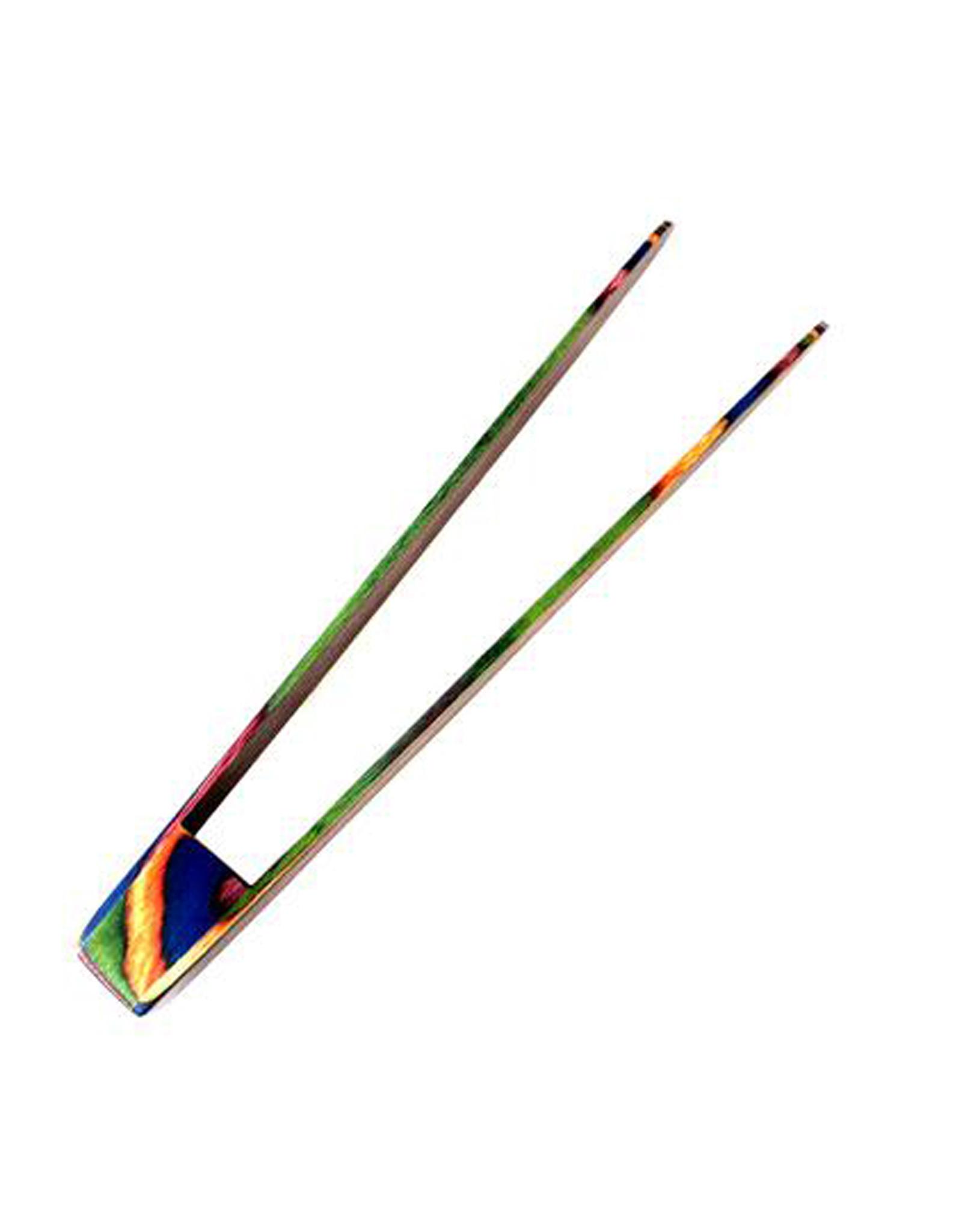 Rainbow Pakkawood Tongs