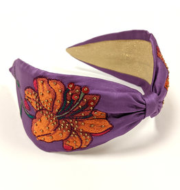 Lily Embroidered Headband
