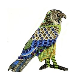 Horus Falcon Brooch Pin