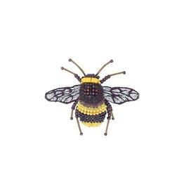 Bumblebee Brooch Pin