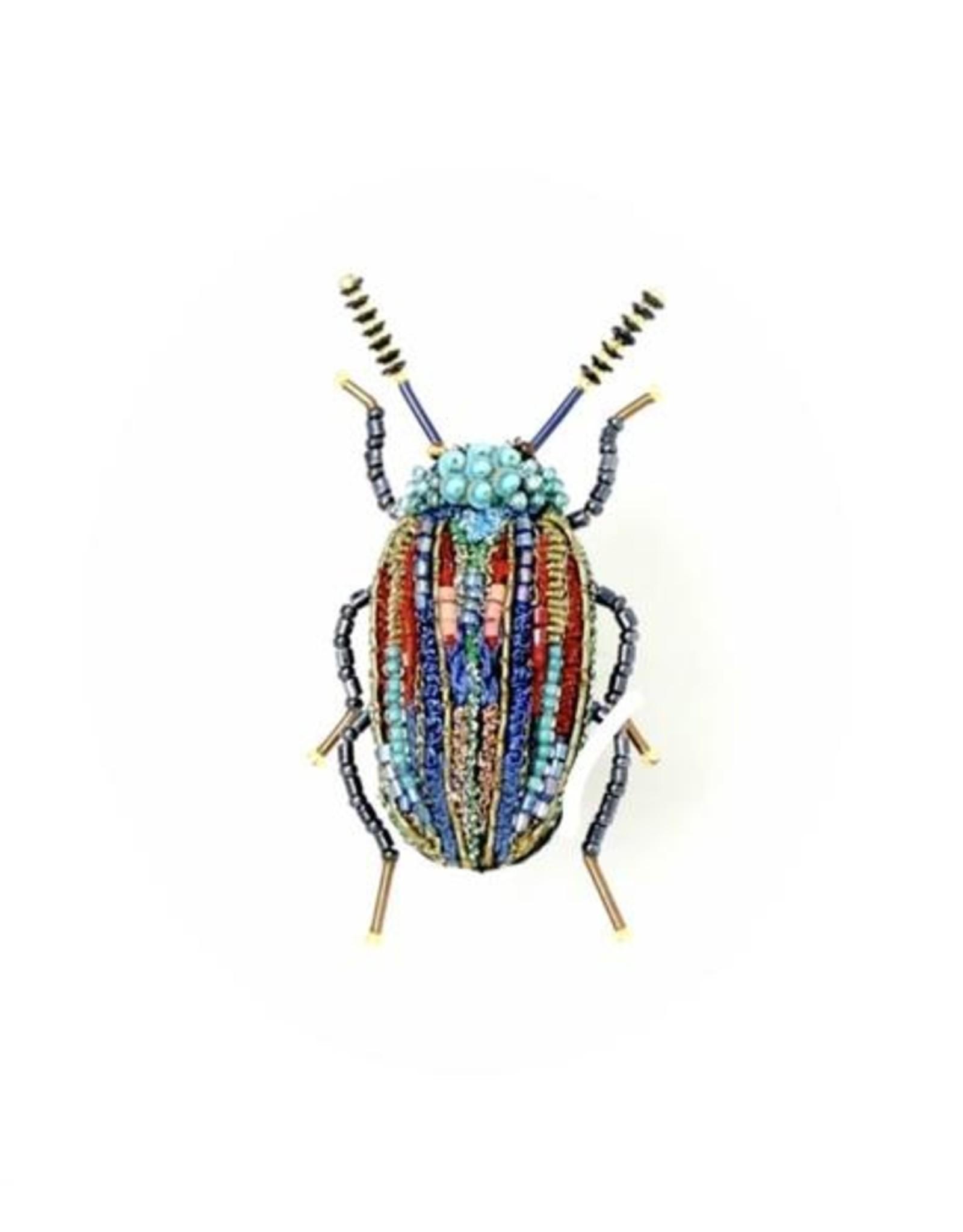 Snowdon Beetle Brooch Pin