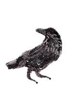 Raven Brooch Pin