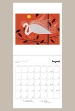 Charley Harper 2022 Mini Wall Calendar