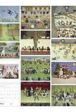 Pat Scott's Incredible Cats 2022 Wall Calendar