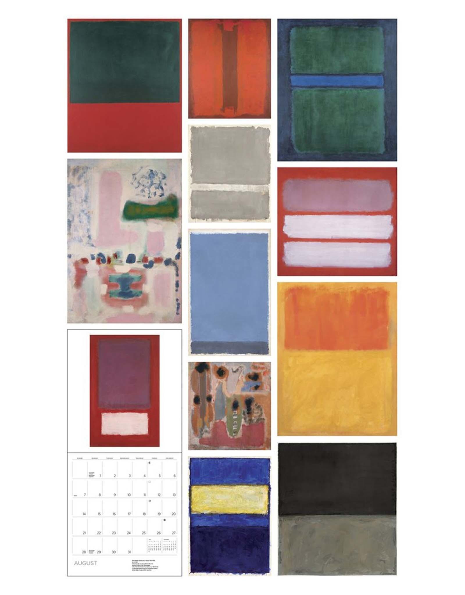 Rothko 2022 Wall Calendar