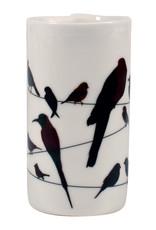 Birds on a Wire Tealight Holder