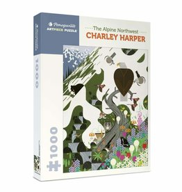 Charley Harper Alpine Northwest Puzzle