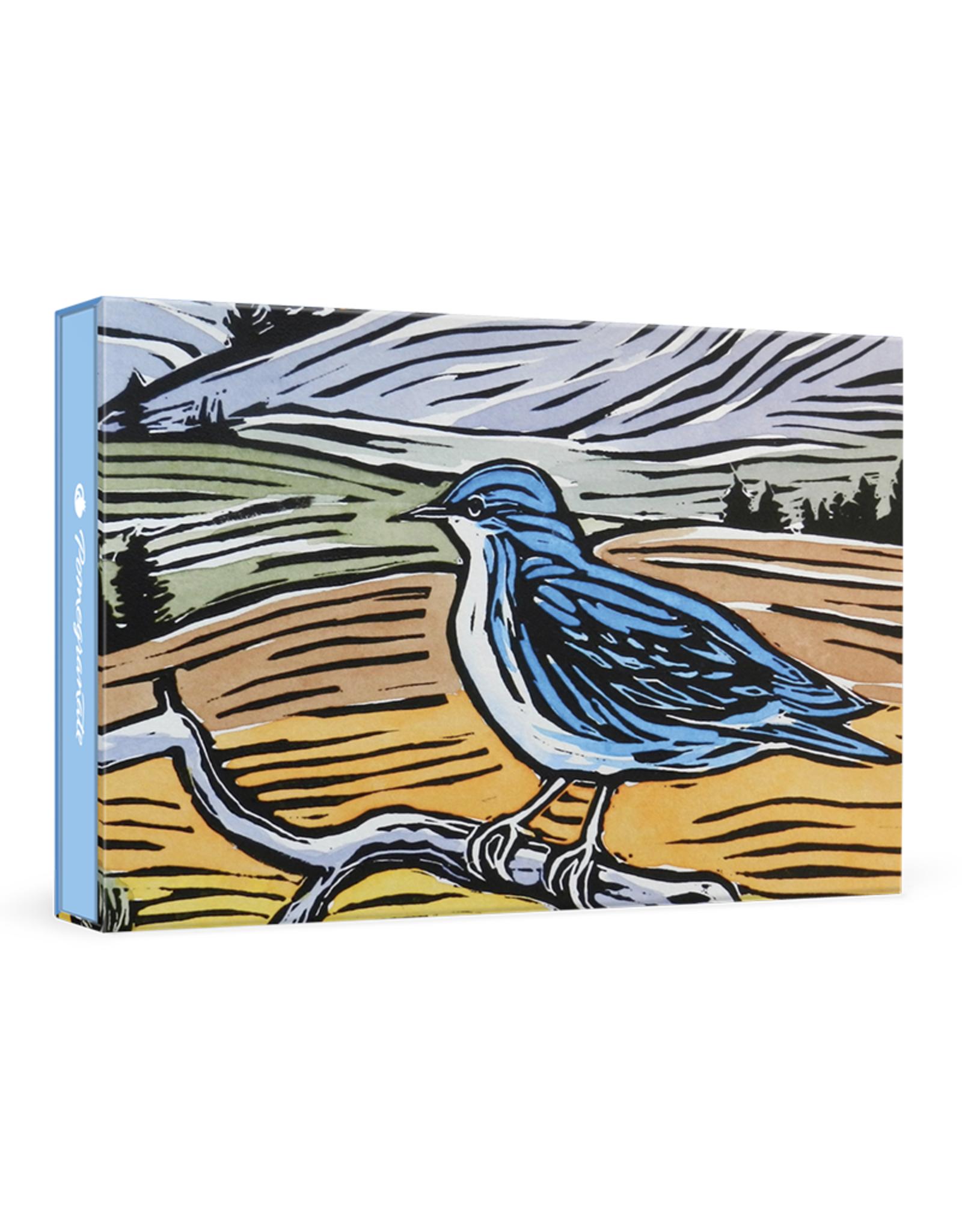 Molly Hashimoto: Mountain Bluebird Boxed Cards