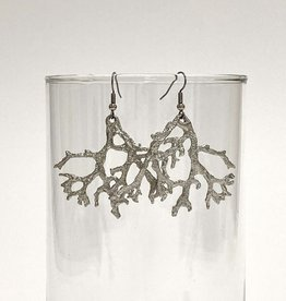Lichen Fan Earrings