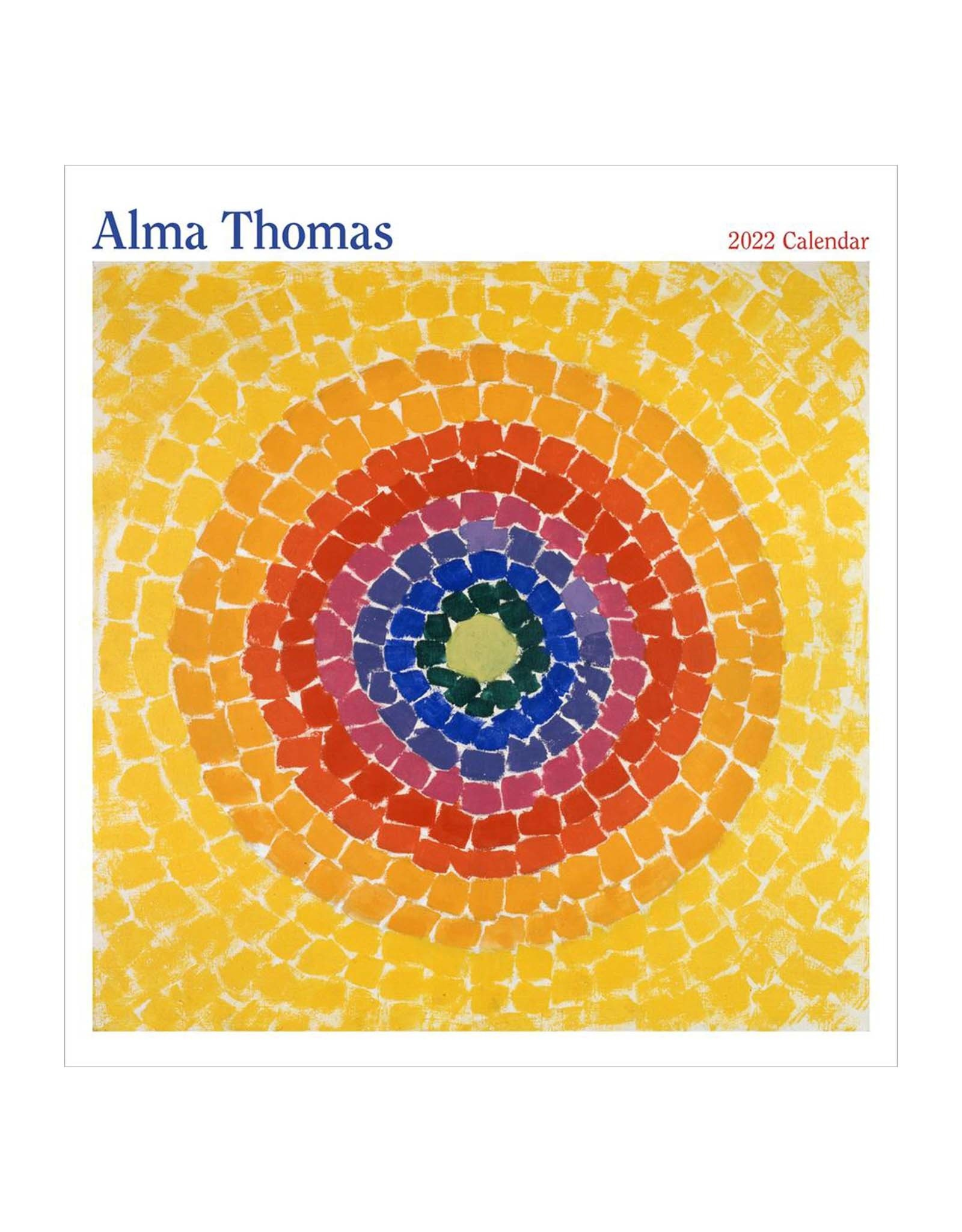 Alma Thomas 2022 Wall Calendar