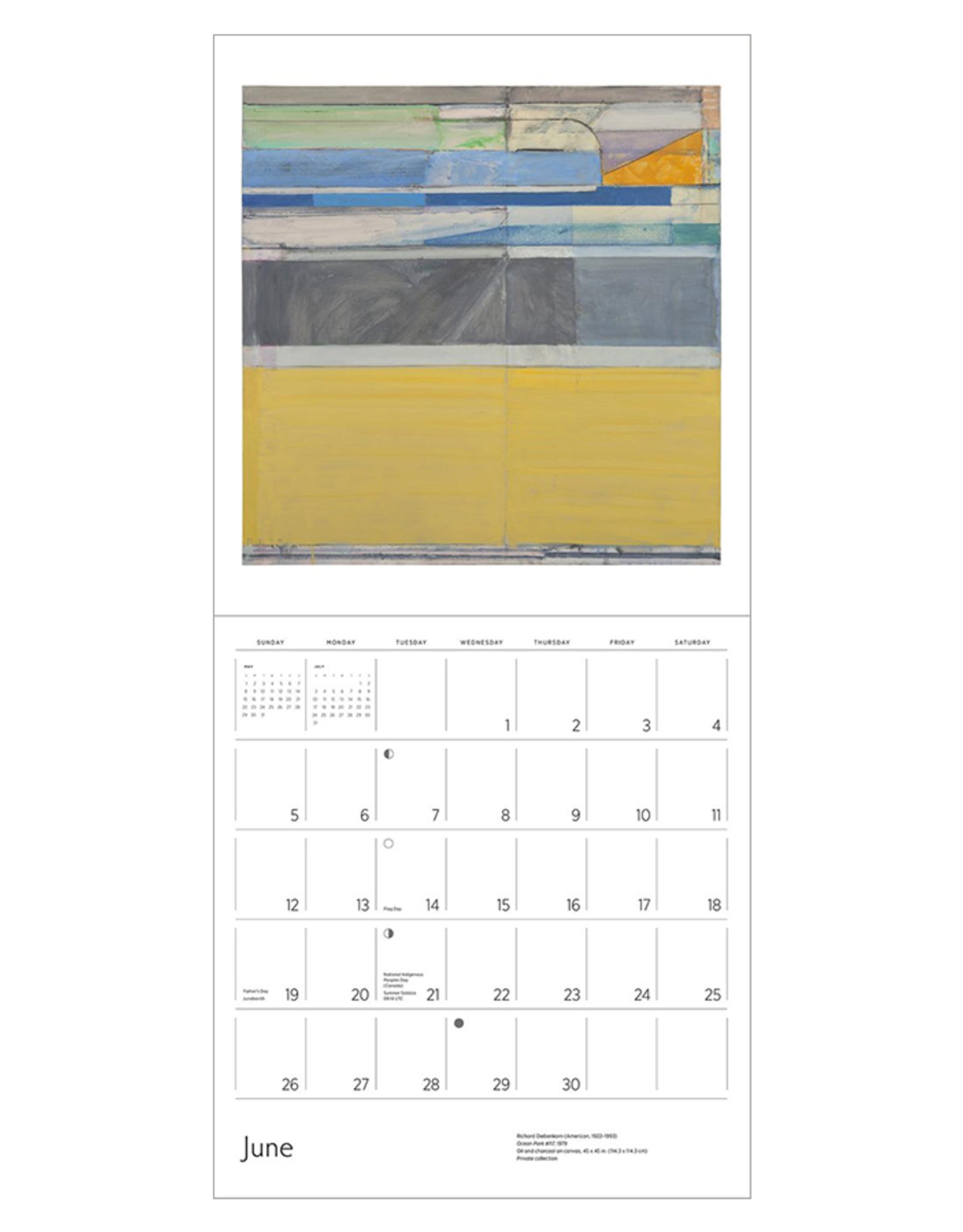 Richard Diebenkorn: Ocean Park 2022 Wall Calendar