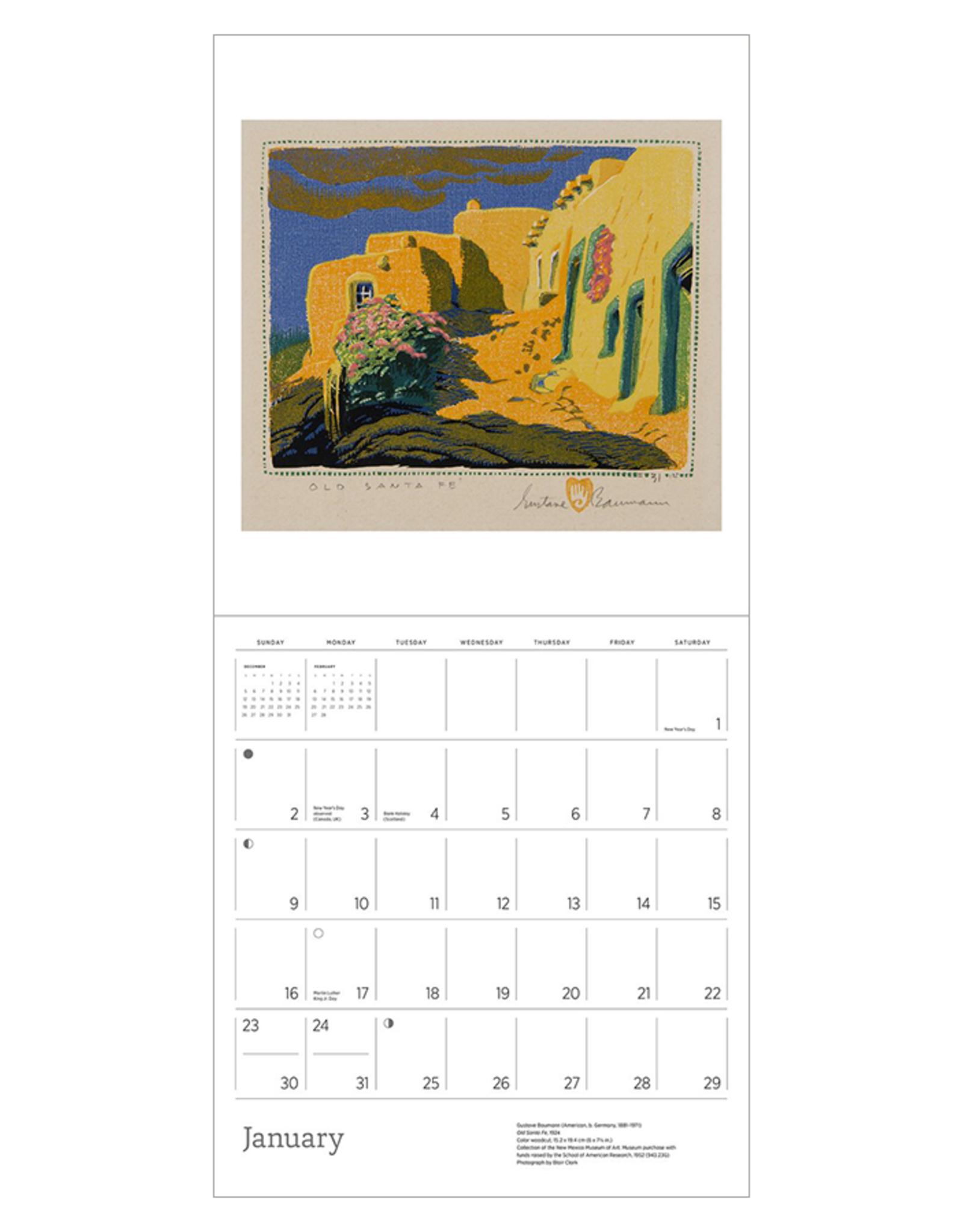 Gustav Bauman 2022 Wall Calendar
