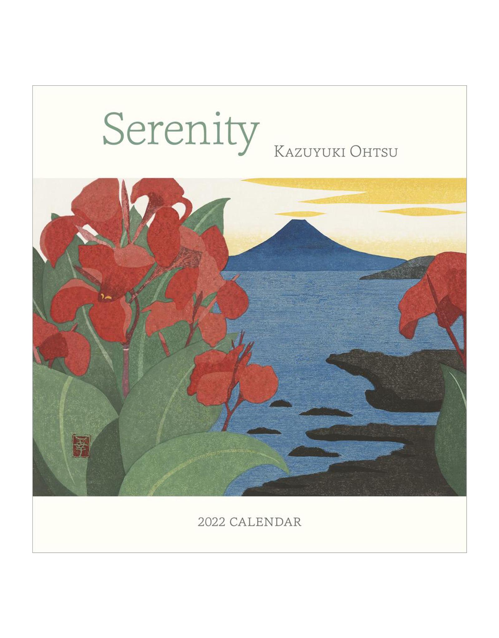 Serenity: Kazuyuki Ohtsu 2022 Mini Wall Calendar