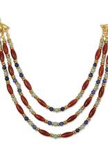 Cleopatra Carnelian Collar