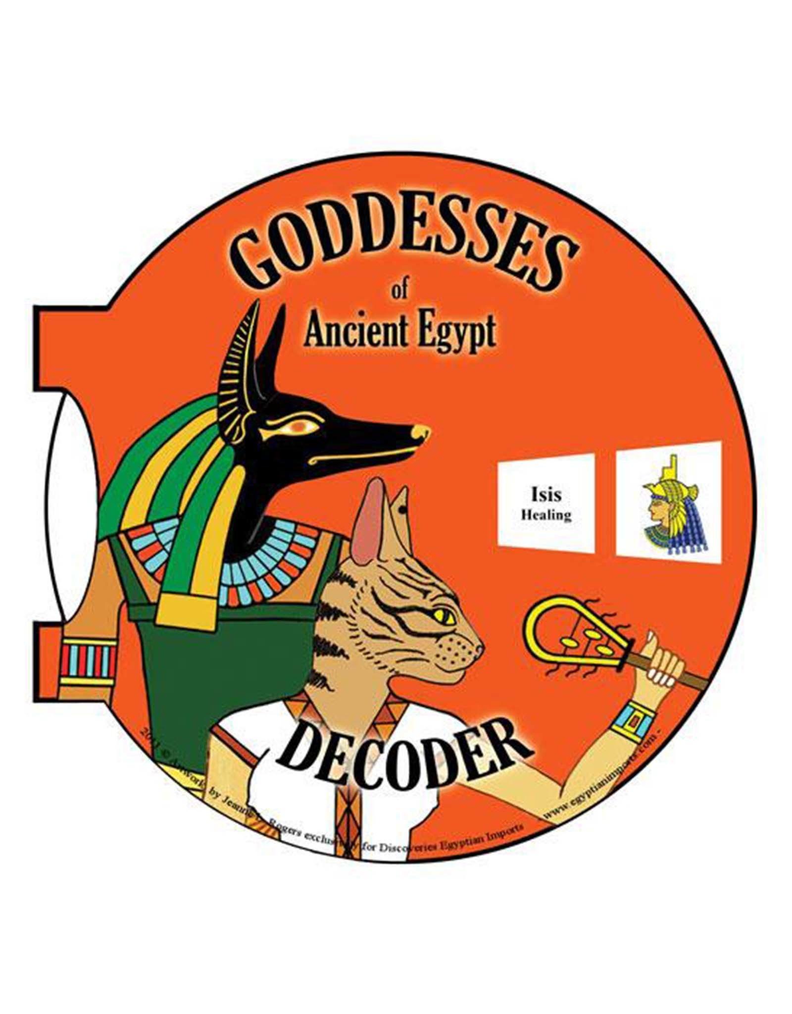 Hieroglyphic Decoder Gods and Goddesses