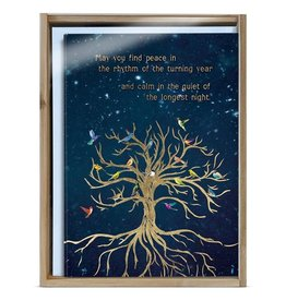 Bird Tree of Life Solstice Boxed Cards