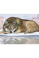 Wolf Reflected Boxed Cards