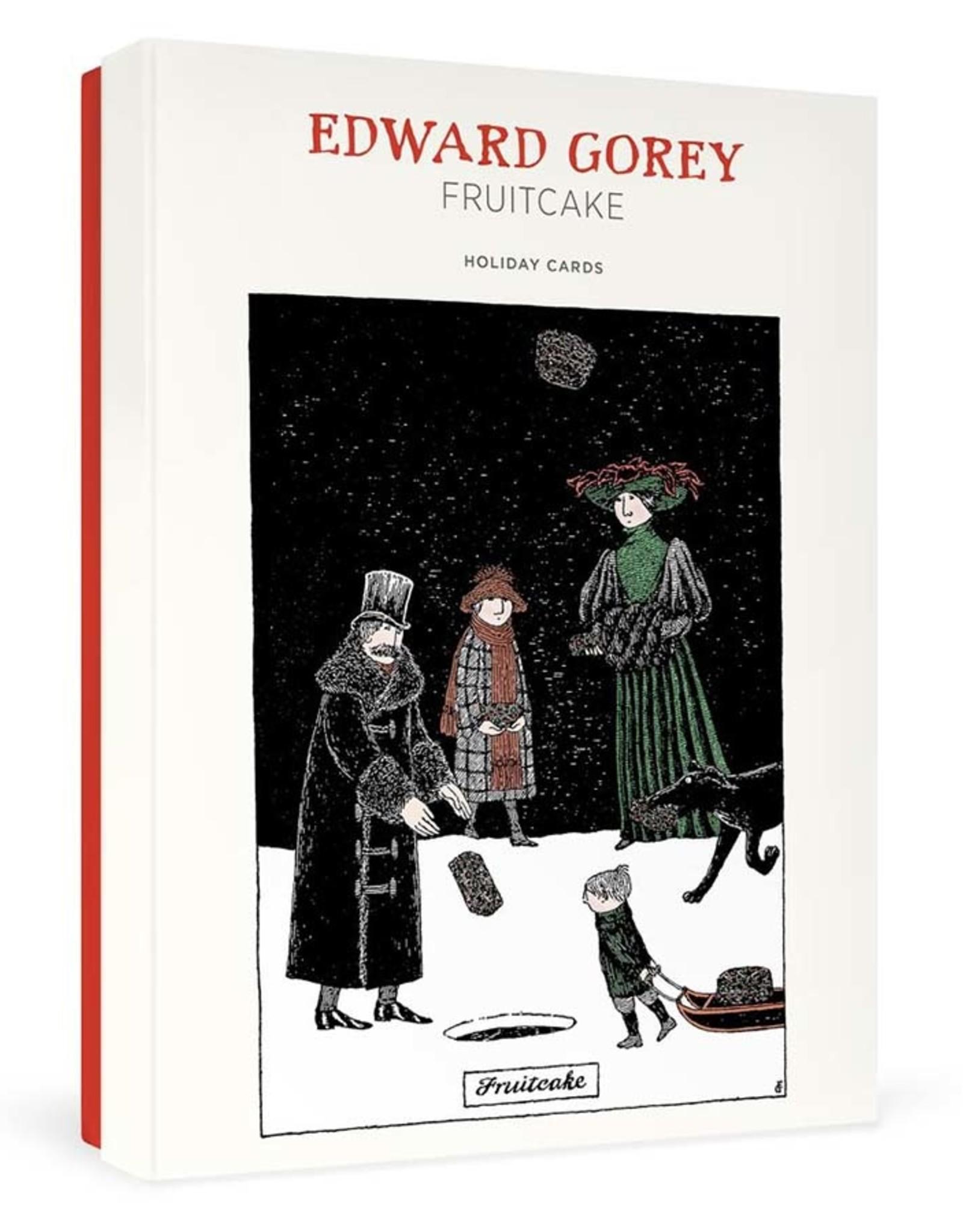 Edward Gorey: Fruitcake Holiday Cards Boxed Cards