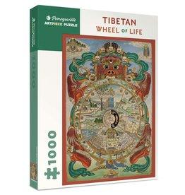 Tibetan Wheel Of Life Puzzle