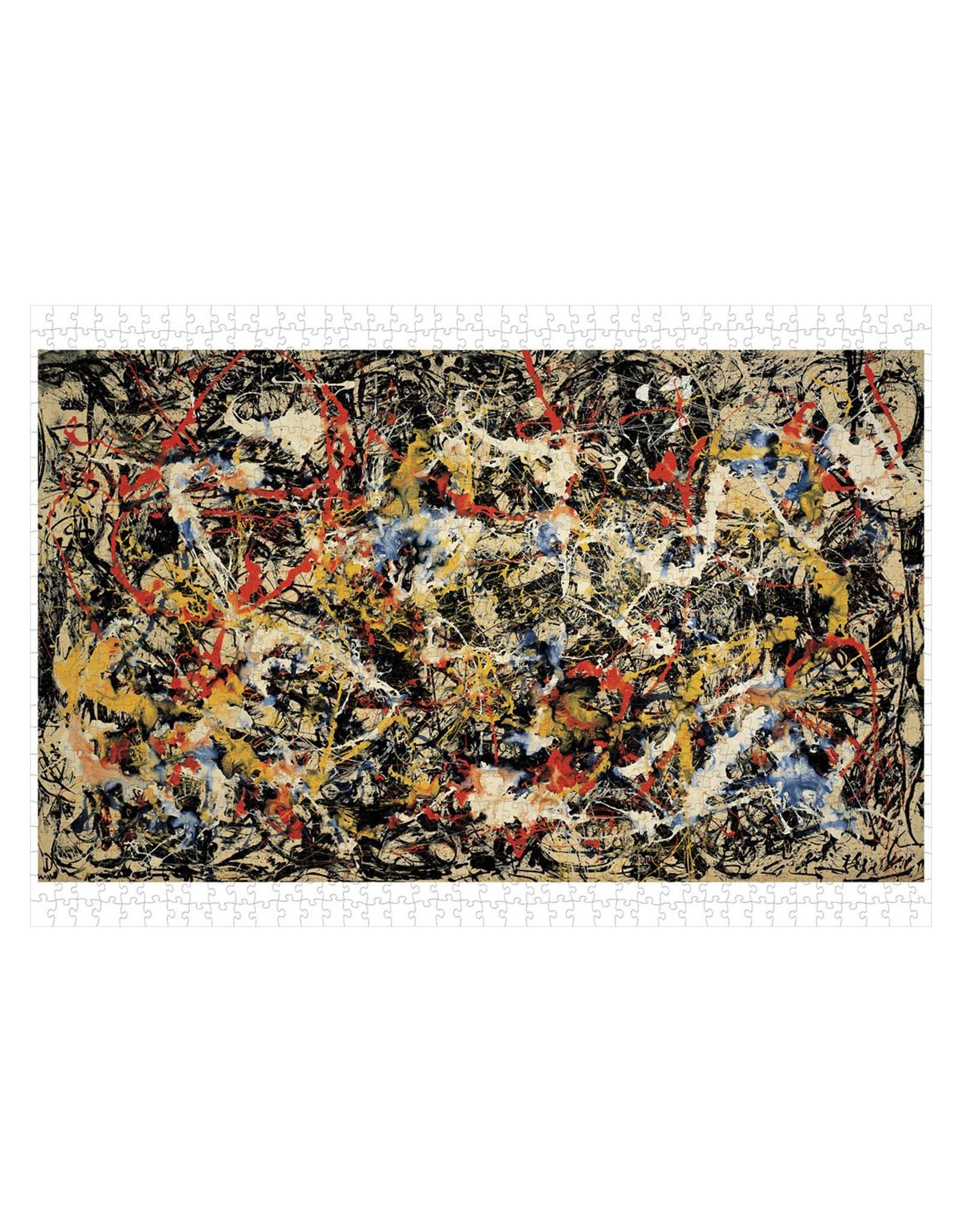 Jackson Pollock Convergence Puzzle