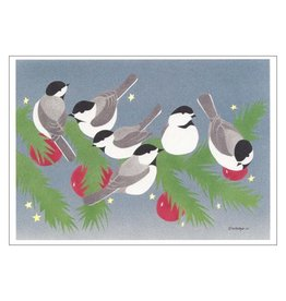 Chickadees Boxed Cards