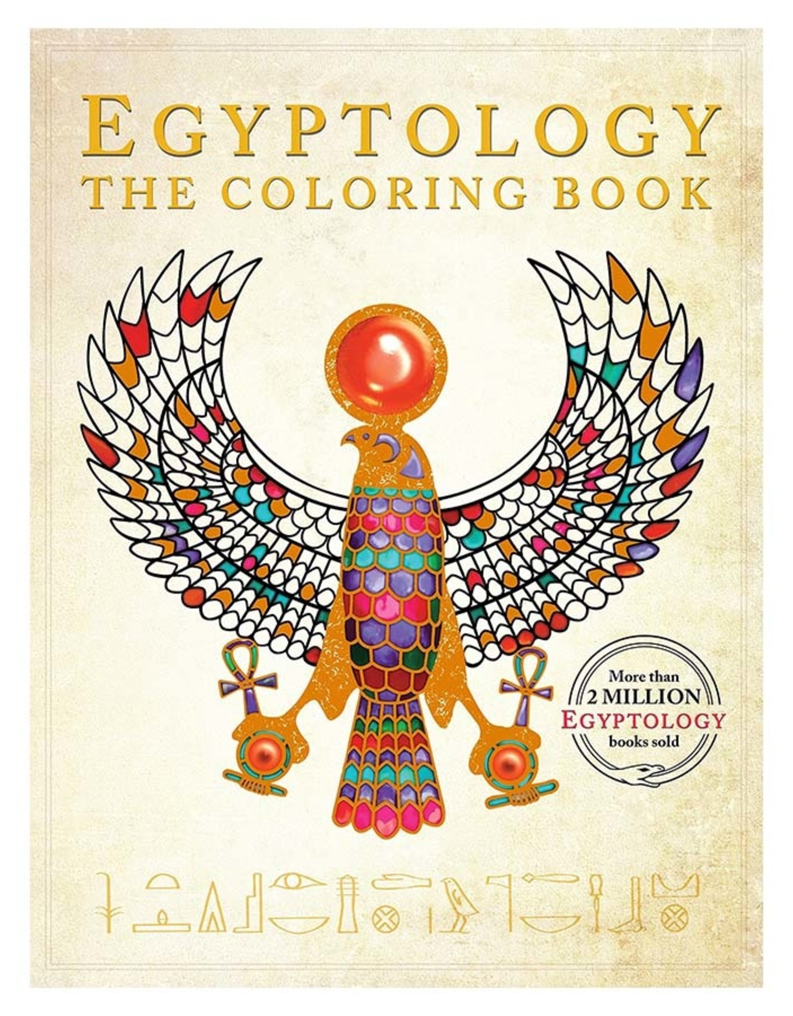 Egyptology Coloring Book
