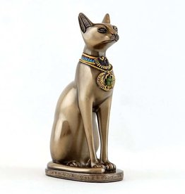 Bastet Sitting with Earring