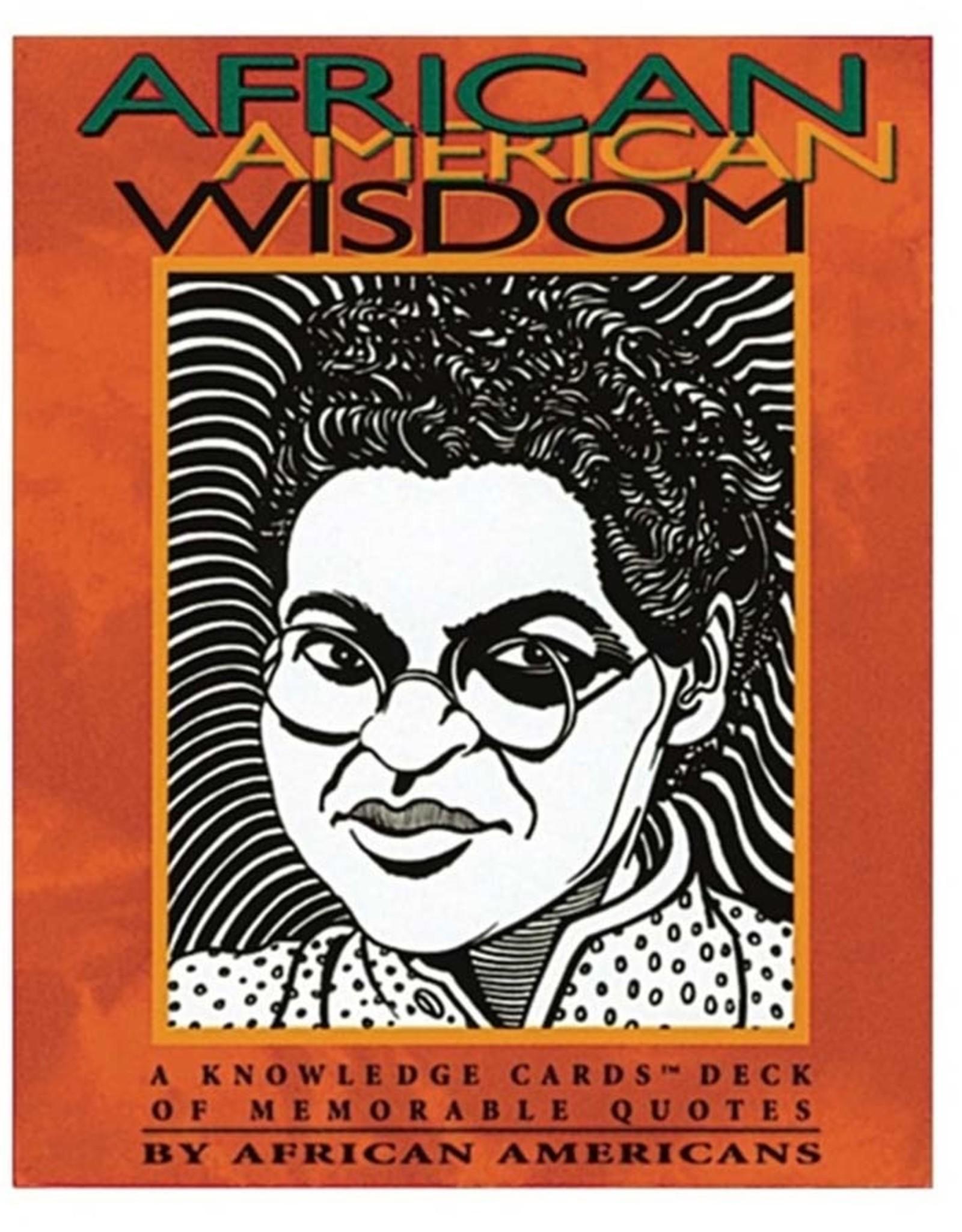 African American Wisdom Cards