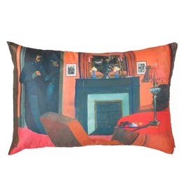 Vallotton Fireplace Pillow