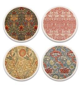 William Morris Textiles Coaster Set