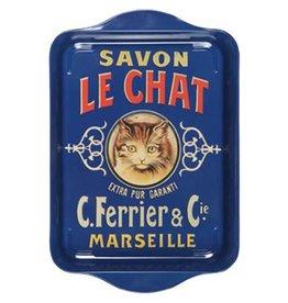 Savon Le Chat Metal Tray