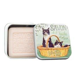 Black & White Cats Soap Tin