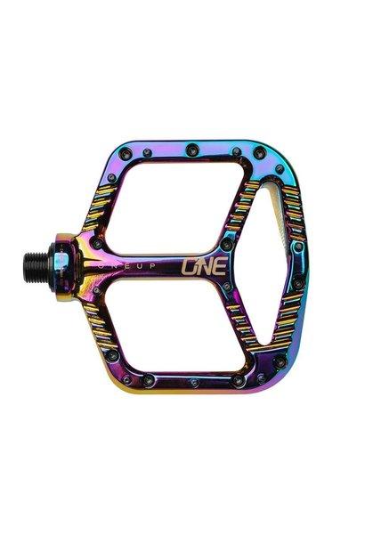 OneUp Aluminum Pedals Oil Slick