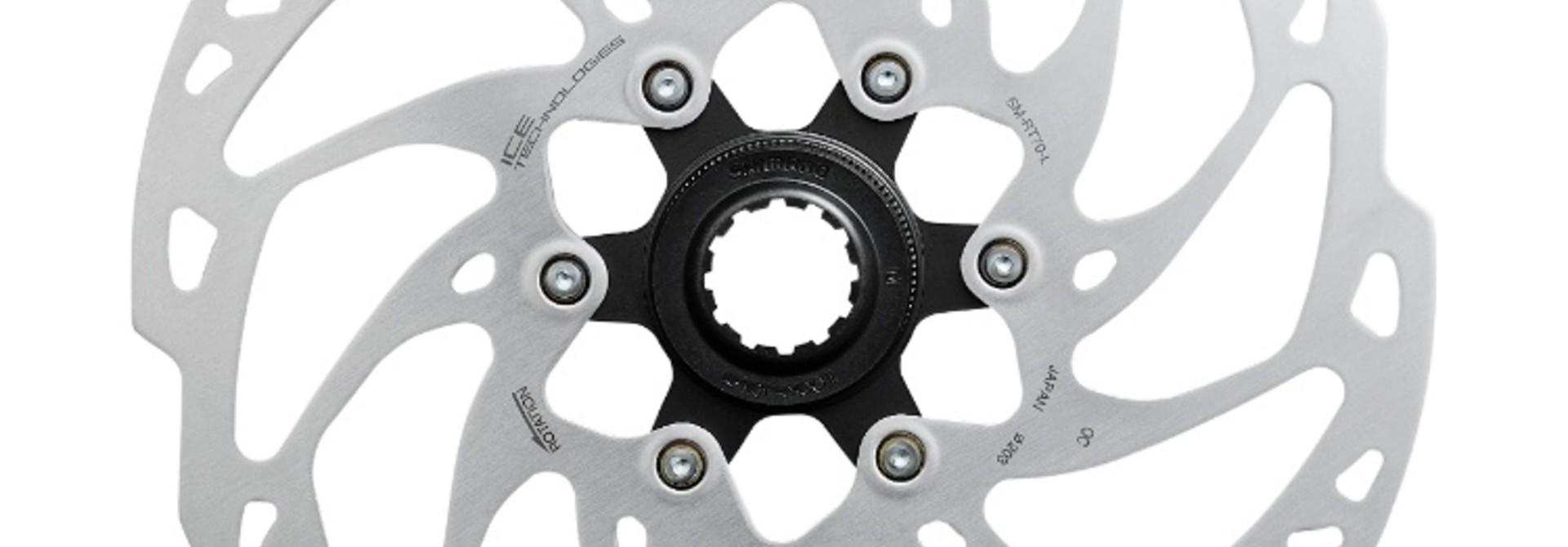 Shimano Rotor, SM-RT70, W/Lock Ring