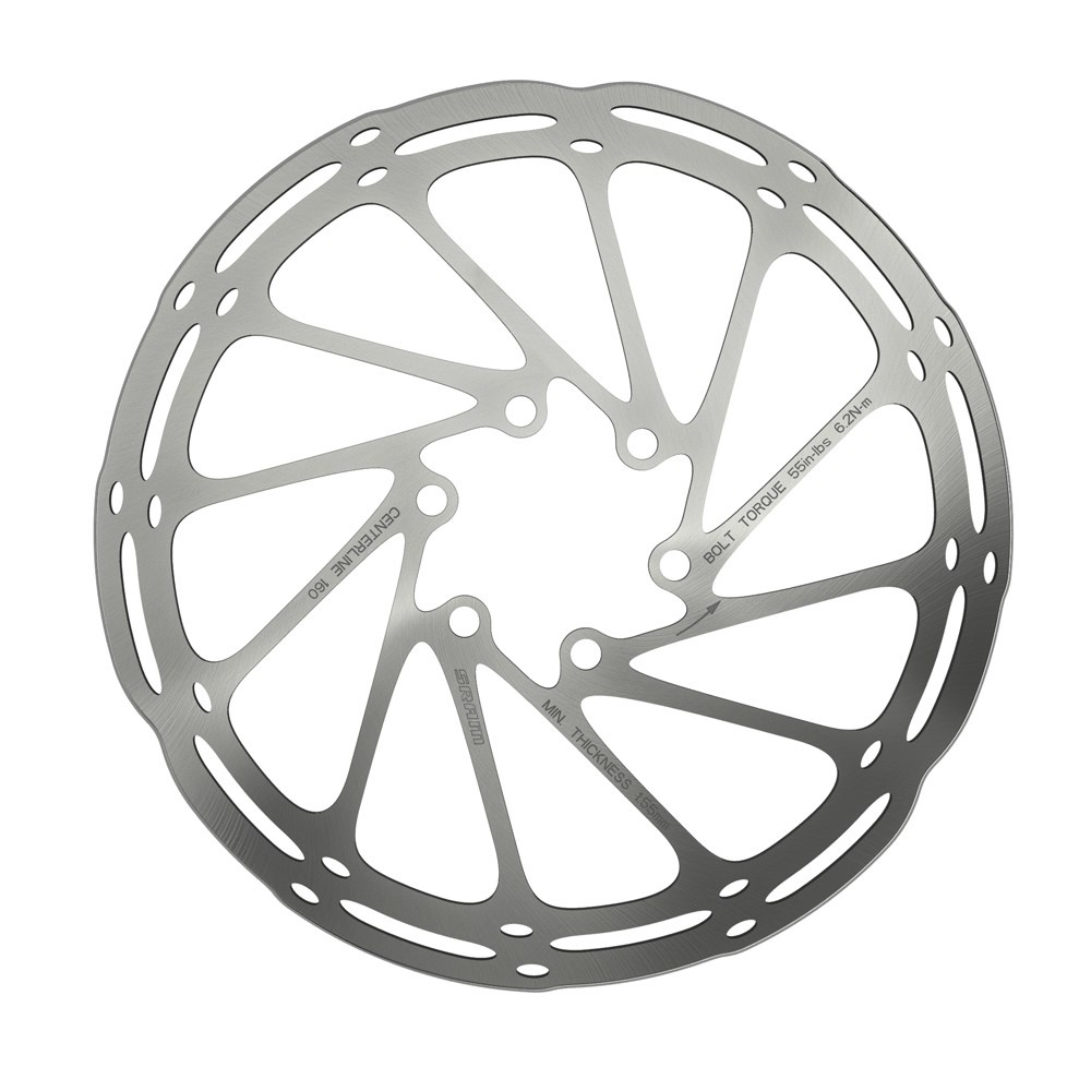 SRAM Centreline Rounded Disc Rotor / ISO 6 Bolt-1