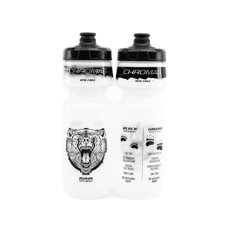 Chromag Water Bottle Kuma 750ml clear-1