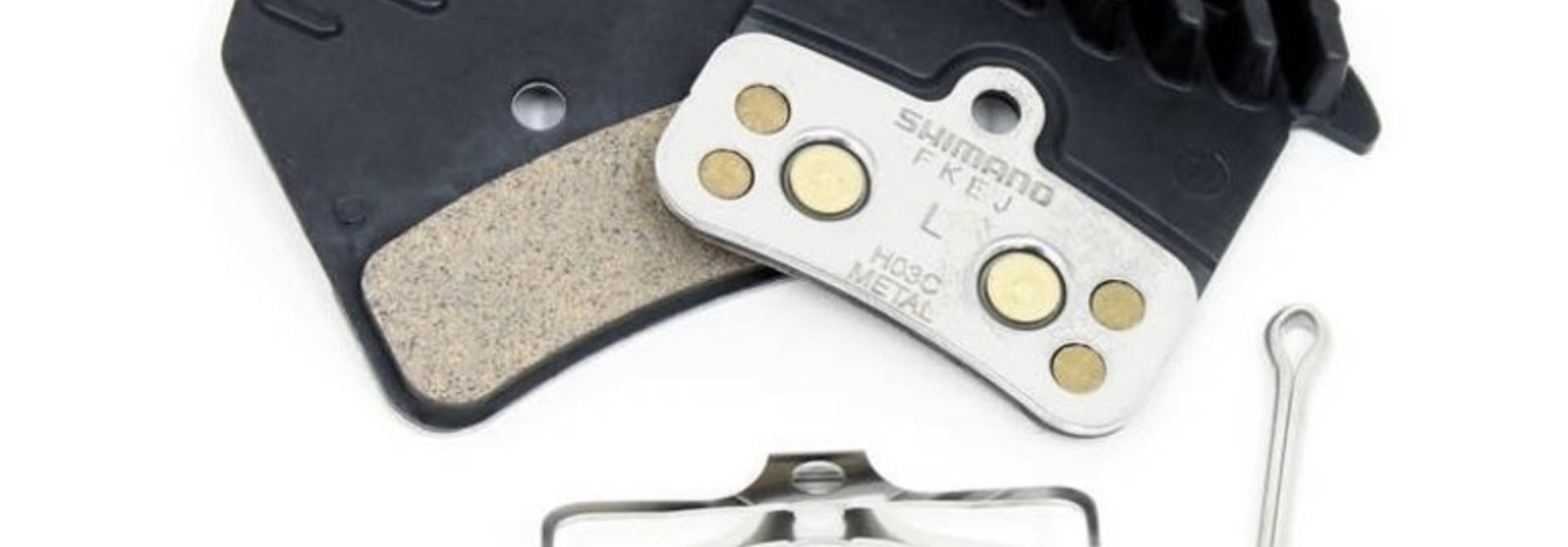 Shimano Brake Pads Shimano Metal H03C Finned