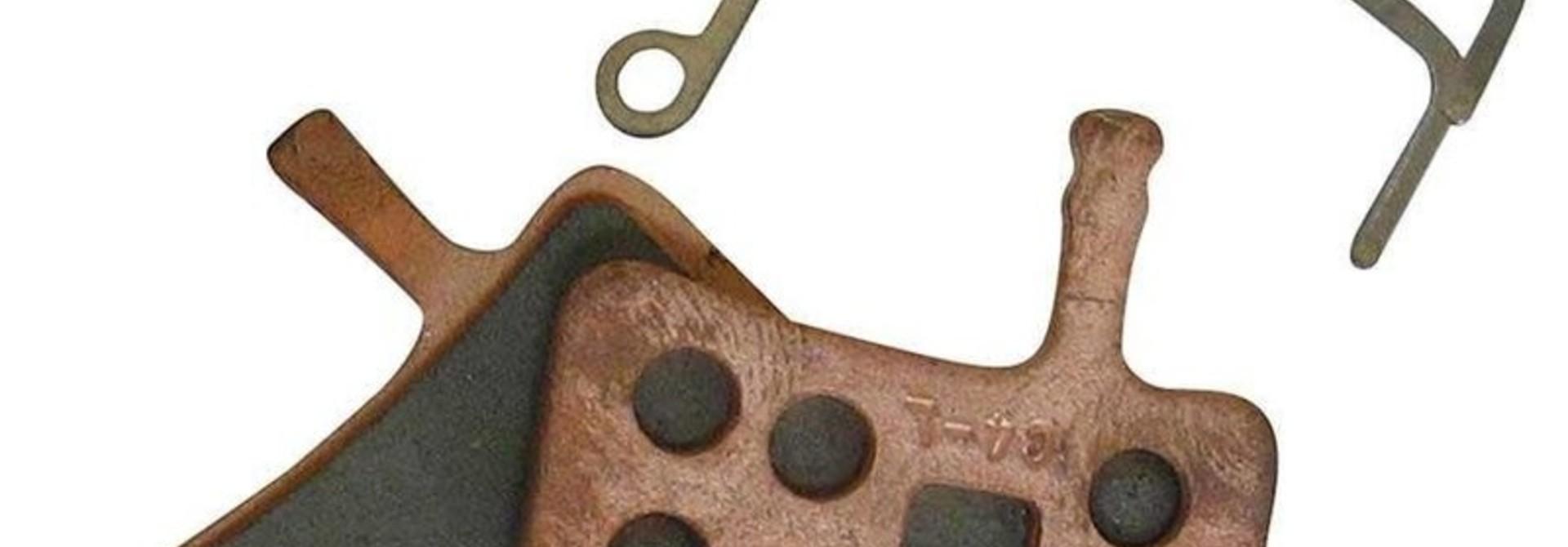Avid Brake Pads Avid Juicy BB7 Sintered Metal Steel Back Plate Pair