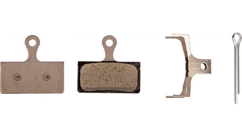 Shimano, Y8KA98010, G01S, BR-M666, Disc brake pads, Without fins, Resin, Pair, G type-1