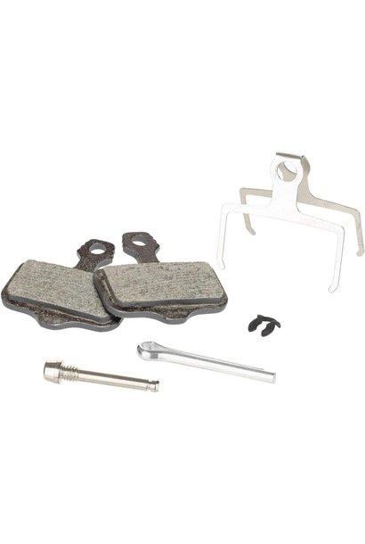 Avid, Elixir, DB, Level, Level T, Level TL Disc brake pads, Disc brake pads, Organic, Steel back plate, pair