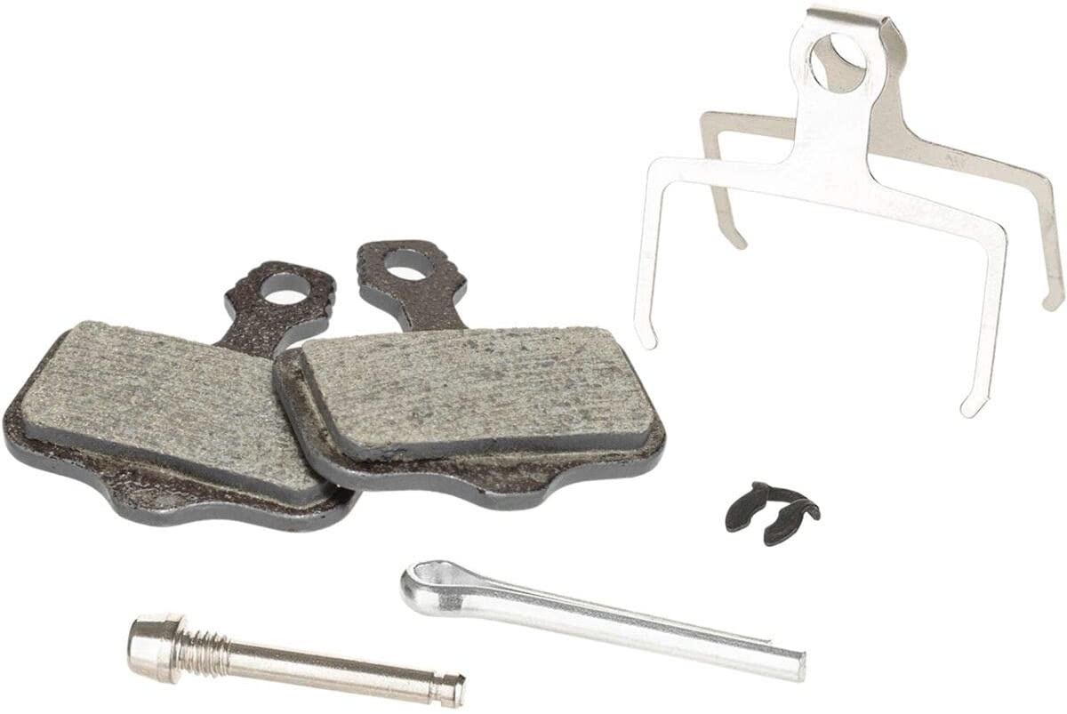 Avid, Elixir, DB, Level, Level T, Level TL Disc brake pads, Disc brake pads, Organic, Steel back plate, pair-1